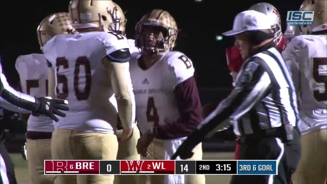 2018 IHSAA FB Brebeuf at West Lafayet...