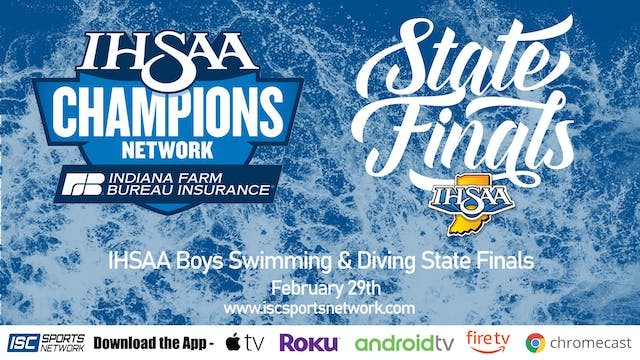 2020 IHSAA Boys Swimming and Diving S...