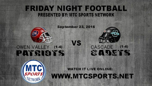 2016 FB Owen Valley at Cascade
