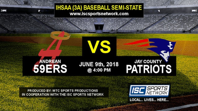 2018 IHSAA BB Andrean vs Jay County