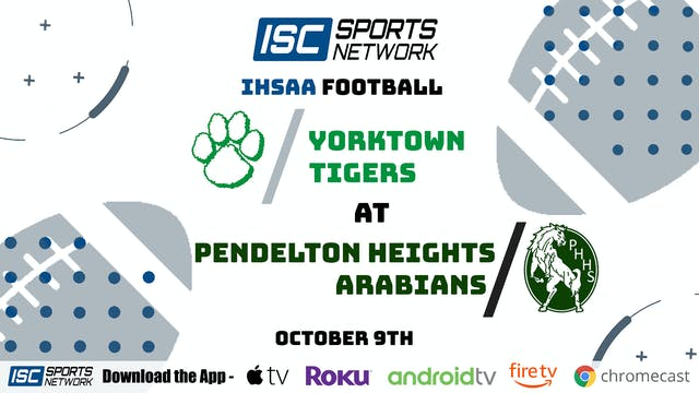 2020 FB Yorktown at Pendleton Heights
