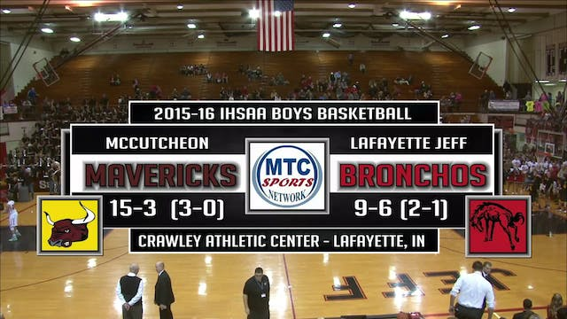 2016 BBB McCutcheon at Lafayette Jeff