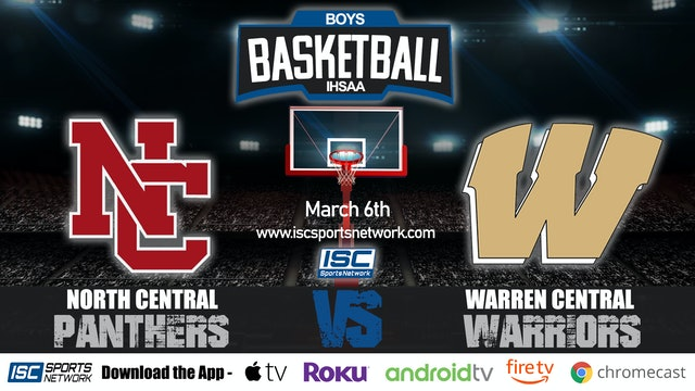 2020 IHSAA BBB North Central vs Warren Central