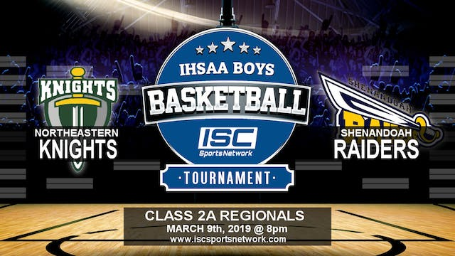 2019 IHSAA BBB Northeastern vs Shenan...