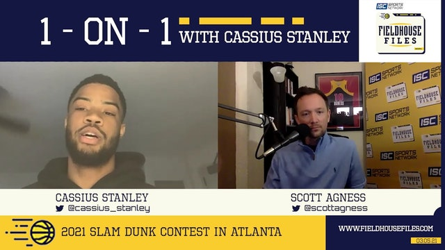 03-05 Fieldhouse Files 1-on-1 with Cassius Stanley