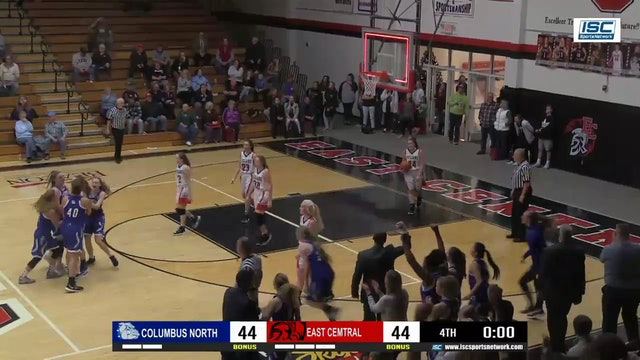 Columbus North Girls Basketball Buzzer Beater