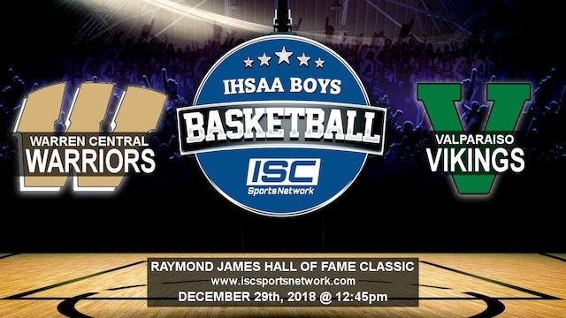 2018 HOF BBB Warren Central vs Valparaiso