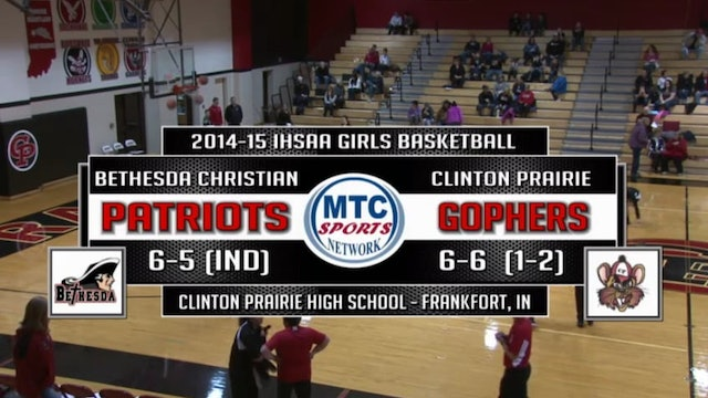 2015 BBB/GBB Bethesda Christian at Clinton Prairie