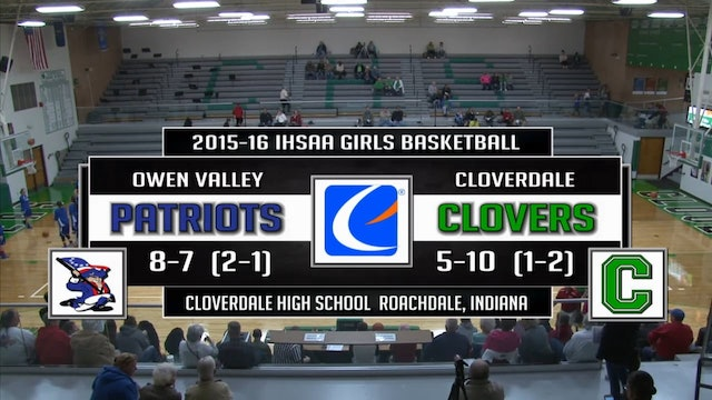 2016 GBB Owen Valley at Cloverdale