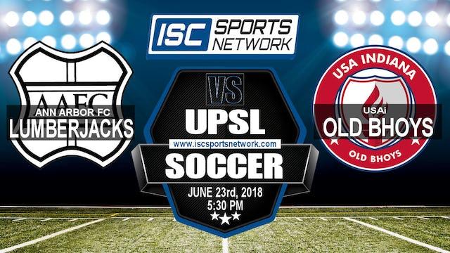2018 UPSL Ann Arbor vs USAi Old Bhoys