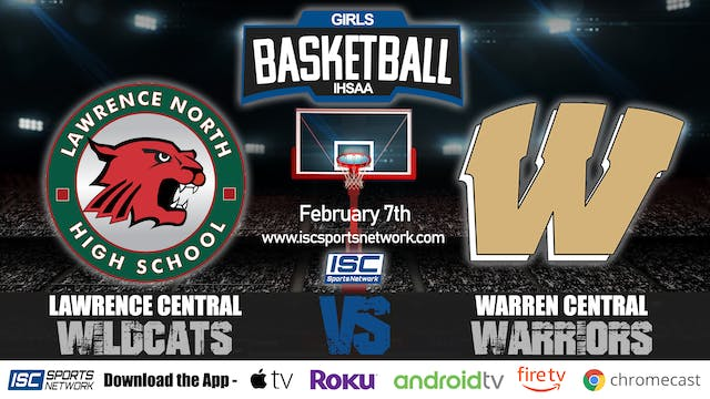 2020 IHSAA GBB Lawrence North vs Warr...