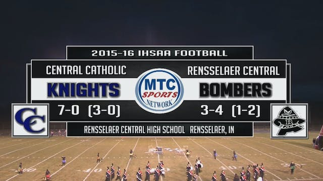 2015 FB Central Catholic at Rensselae...