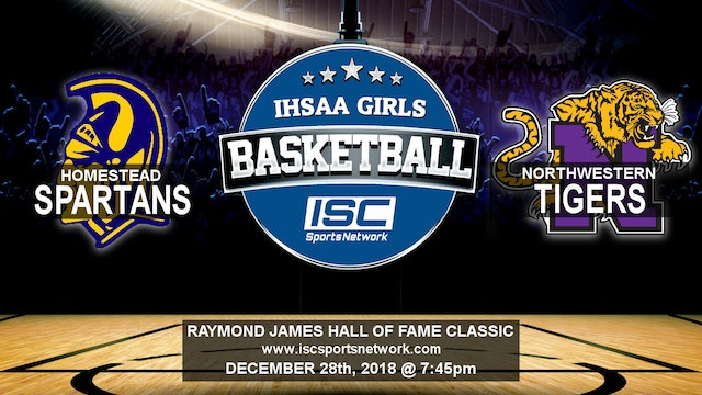 2018 HOF GBB Northwestern vs Homestead