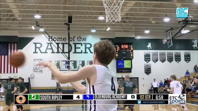 2014 BBB SRT South Ripley vs Oldenburg Academy