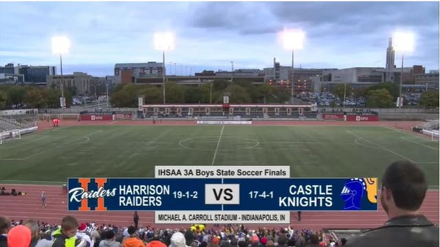2017 IHSAA BS 3A Harrison vs Castle 1...