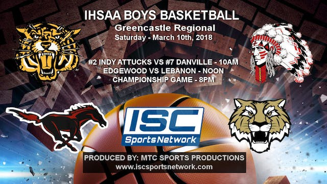 2018 IHSAA BBB Danville vs Indianapol...