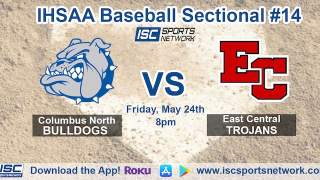 2019 IHSAA BB Columbus North vs East Central