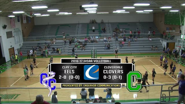 2016 VB Clay City at Cloverdale