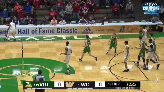 2018 HOF BBB Valparaiso vs Warren Central Newman block