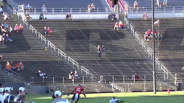2017 FB Lafayette Jeff vs Harrison Interception