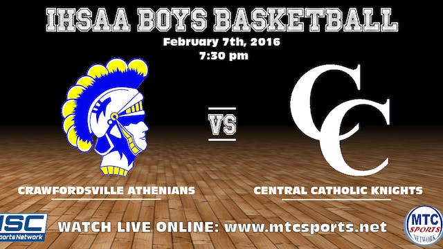 2017 BBB Crawfordsville at Central Ca...