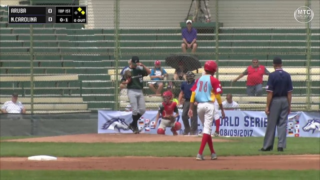 2017 Game 13 Aruba vs North Carolina