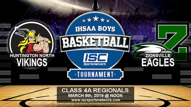 2019 IHSAA BBB Huntington North vs Zionsville