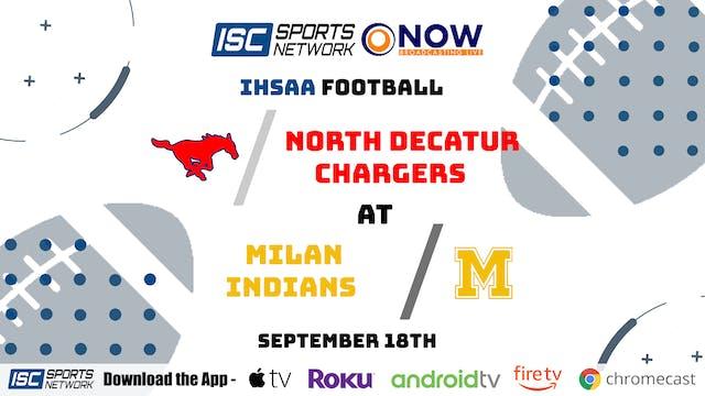 2020 FB North Decatur at Milan 9/18/20