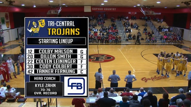 2016 BBB HHC Tri Central vs Rossville