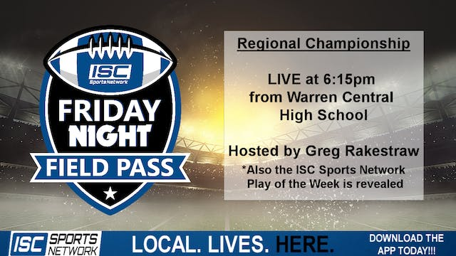 2019 Friday Night Field Pass Regional...