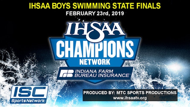 2019 IHSAA Boys Swimming and Diving State Finals