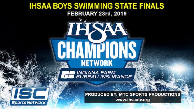 2019 IHSAA Boys Swimming and Diving S...
