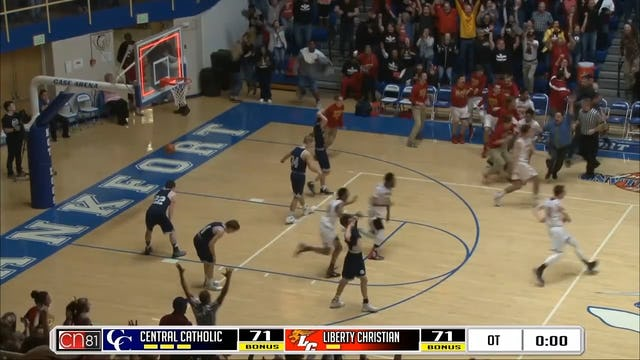 2016 BBB IHSAA Regionals Ronny Williams Buzzer Beater