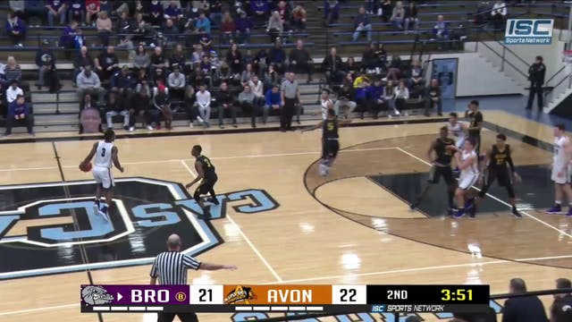 2019 HCT Brownsburg vs Avon Thomas dunk