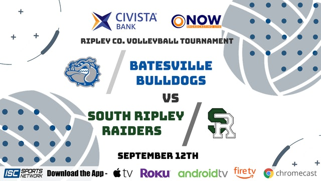 2020 VB Batesville vs South Ripley