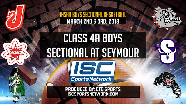 2018 IHSAA BBB New Albany vs Seymour