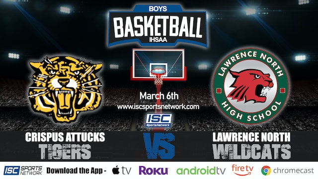 2020 IHSAA BBB Indianapolis Attucks vs Lawrence North