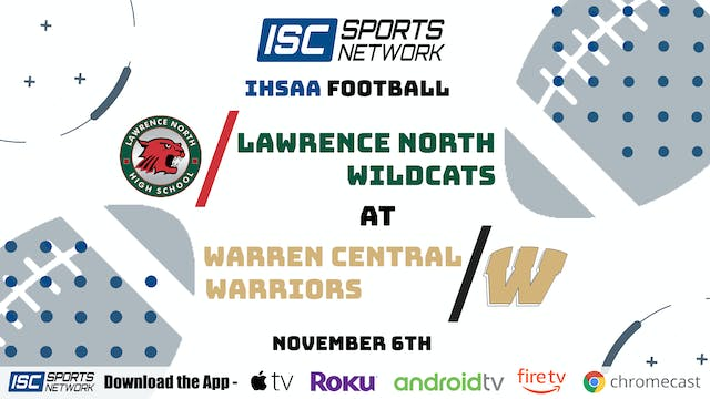 2020 IHSAA FB Lawrence North at Warre...