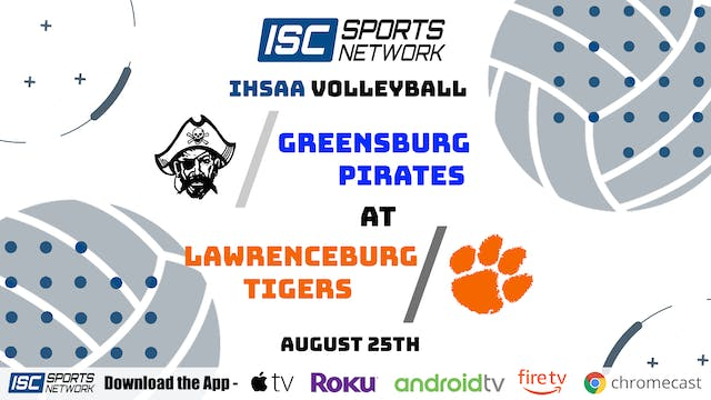 2020 VB Greensburg at Lawrenceburg