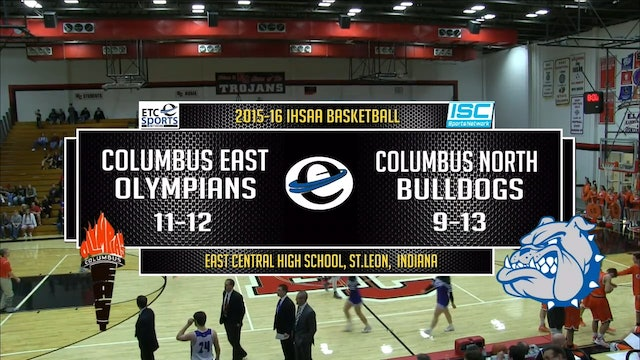 2016 IHSAA BBB Columbus East vs Columbus North