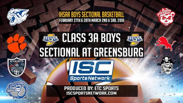 2018 IHSAA Batesville vs Greensburg