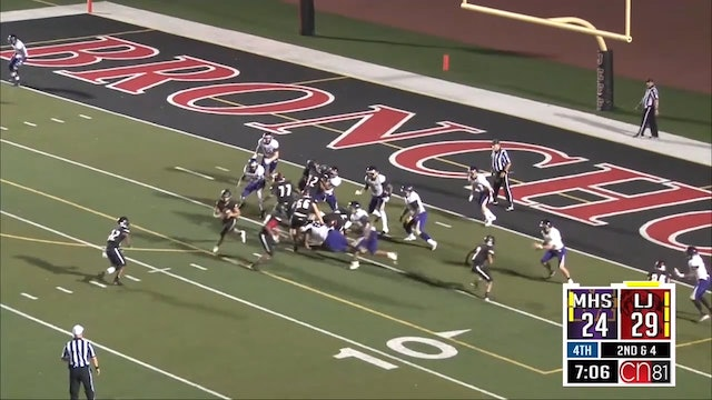 2017 FB Marion at Lafayette Jeff Wilkerson TD