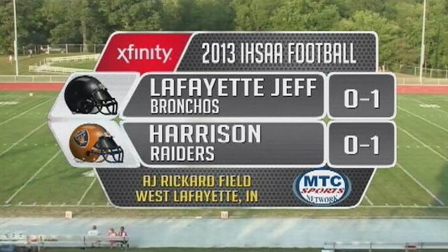 2013 FB Lafayette Jeff at Harrison