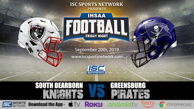 2019 FB South Dearborn at Greensburg
