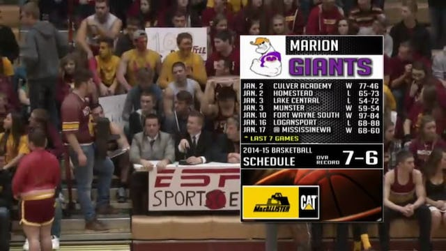 2015 BBB Marion at McCutcheon