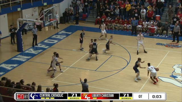 2016 Ronny Williams wins the Regional on a buzzer beater
