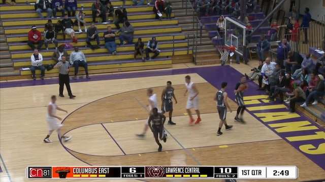 2015 BBB MBC Columbus East vs Lawrence Central