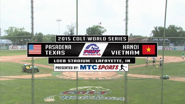 2015 Game 13 Texas vs Vietnam