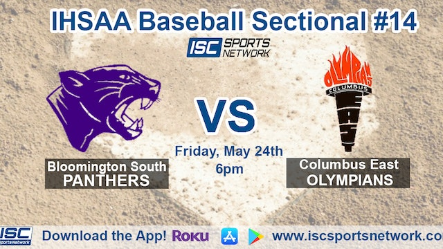 2019 IHSAA BB Bloomington South vs Columbus East