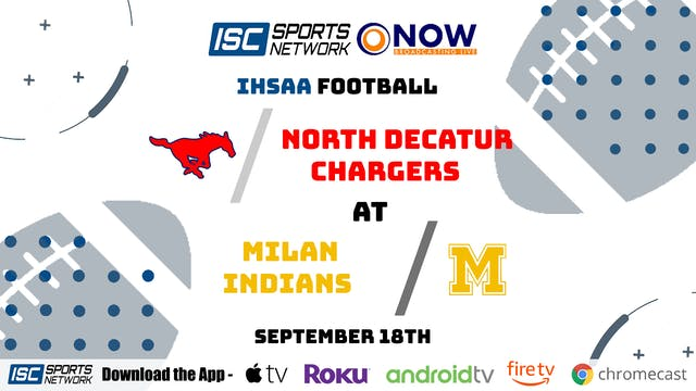 2020 FB North Decatur at Milan 9/18/20 - Part 3